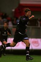 Fotball. Tippeliga 01.05.2002.<br /> Brann v Vålerenga Fotball 0-4.<br /> Tobias Grahn, Vålerenga.<br /> Foto: Chris Kyllingmark, Digitalsport