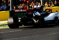 March 17, 2019 - Melbourne, Australia - Motorsports: FIA Formula One World Championship 2019, Grand Prix of Australia, ..#99 Antonio Giovinazzi (ITA, Alfa Romeo Racing) (Credit Image: © Hoch Zwei via ZUMA Wire)