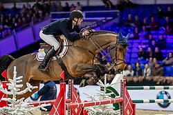 Hazebroek Mathias, BEL, Gran Mamut<br /> Jumping Mechelen 2019<br /> © FEI/Dirk Caremans<br />  30/12/2019