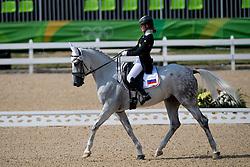 Ovchinnikova Evgeniya, RUS, Orion<br /> Dressage test evening<br /> Olympic Games Rio 2016<br /> © Hippo Foto - Dirk Caremans<br /> 06/08/16