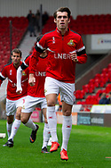 Doncaster Rovers forward John Marquis warms up during the EFL Sky Bet League 1 match between Doncaster Rovers and Bradford City at the Keepmoat Stadium, Doncaster, England on 22 September 2018.