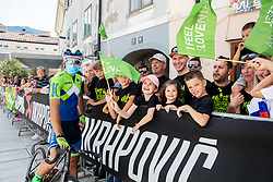 during the 4th Stage of 27th Tour of Slovenia 2021 cycling race between Ajdovscina and Nova Gorica (164,1 km), on June 12, 2021 in Ajdovscina - Nova Gorica, Ajdovscina - Nova Gorica, Slovenia. Photo by Vid Ponikvar / Sportida