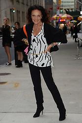 September 9, 2017 - New York, NY, USA - September 8, 2017 New York City..Diane von Furstenberg attending the Daily Front Row's Fashion Media Awards at Four Seasons Hotel New York Downtown on September 8, 2017 in New York City. (Credit Image: © Kristin Callahan/Ace Pictures via ZUMA Press)