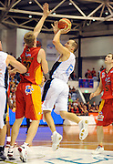 Phil Jones (NZ)<br /> New Zealand Breakers vs Melbourne Tigers<br /> Basketball- NBL Semi Finals Game 1<br /> Melbourne / Weds 25 Feb 2009<br /> © Sport the library / Jeff Crow