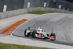 June 22, 2018 - Elkhart Lake, Wisconsin, United States of America - ALFONSO CELIS JR. (32) of the Mexico takes to the track to practice for the KOHLER Grand Prix at Road America in Elkhart Lake, Wisconsin. (Credit Image: © Justin R. Noe Asp Inc/ASP via ZUMA Wire)