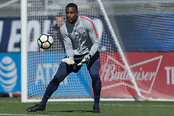 March 26, 2018 - Cary, NC, USA - Cary, NC - March 26, 2018: The USMNT trains before an international friendly against Paraguay at WakeMed Soccer Park. (Credit Image: © John Dorton/ISIPhotos via ZUMA Wire)