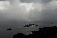 Lake Skadar, landscape from Murici, Montenegro,
