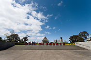 Lest We Forget. A view of the Shrine where a freedom protest was planned but failed to materialize during the COVID-19 in Melbourne. With over a week of zero cases in Victoria, Premier Daniel Andrews is expected to make major announcements on Sunday about further easing of restrictions. (Photo by Dave Hewison/Speed Media)