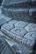 Stone engravings, Borobudur, Kedu Valley, South Central Java, Java, Indonesia, Southeast Asia