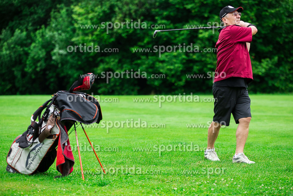 Janez Bukovnik during the 5th Charity Golf Tournament with Anze Kopitar on June 27, 2015 in Bled Golf Course, Slovenia. Photo by Vid Ponikvar / Sportida