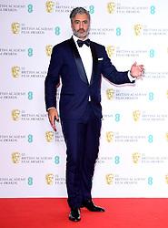 Taika Waititi in the press room at the 73rd British Academy Film Awards held at the Royal Albert Hall, London.