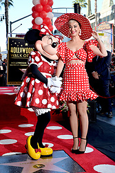 Katy Perry attends the ceremony honoring Minnie Mouse with a Star on The Hollywood Walk of Fame in Celebration of her 90th Anniversary at El Capitan Theatre on January 22, 2018 in Los Angeles, California. Photo by Lionel Hahn/ABACAPRESS.COM