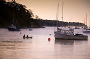 Image of the harbor in Rockport, Maine, American Northeast by Randy Wells