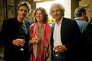 PAWEL PAWLIKOWSKI; SIGRID RAUSING; ERIC ABRAHAM, , The opening night of The Mysteries Ð Yiimimangaliso at the Garrick Theatre. Aftershow party in The Crypt, St Martin-in-the-Fields, Trafalgar Square, London. 15 September 2009.<br /> PAWEL PAWLIKOWSKI; SIGRID RAUSING; ERIC ABRAHAM, , The opening night of The Mysteries ? Yiimimangaliso at the Garrick Theatre. Aftershow party in The Crypt, St Martin-in-the-Fields, Trafalgar Square, London. 15 September 2009.
