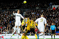 20120128: MADRID, SPAIN - Santiago bernabeu Stadium. Madrid. Spain. Football match between Real Madrid CF and  Real Zaragoza. BBVA League. In picture Ricardo Carvalho<br /> PHOTO: CITYFILES