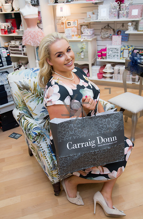 08.09. 2017.                             <br /> Launch of  Limerick Racecourse and Keanes Most Stylish Lady. <br /> Pictured at Carrig Donn, The Crescent Shopping Centre was Sinead O'Brien, Sinead's Curvy Style. Picture: Alan Place