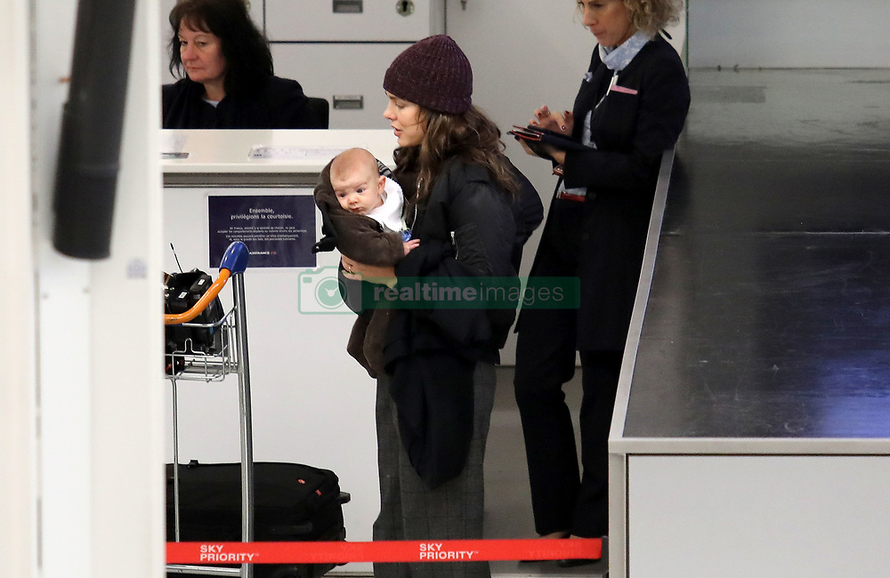Semi Exclusive :Princess Charlotte Casiraghi rumoured to be separate from Dimitri leaves Paris alone with her newborn baby balthazar Semi Exclusif : La princesse Charlotte Casiraghi part seule avec son fils Balthazar pour Monaco