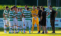 03/07/14 PRE-SEASON FRIENDLY<br /> FK KRASNODAR v CELTIC<br /> HOFMANINGER STADION - BAD WIMSBACH<br /> The Celtic squad gather round to take instruction from manager Ronny Deila