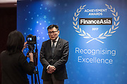 FinanceAsia Achievement Awards 2017 in Grand Hyatt Hotel, Hong Kong, China, on 31 January 2018. Photo by King Chung Fung/Studio EAST