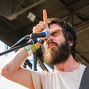 Patrick Stickles of Titus Andronicus photo by Mara Robinson at Pitchfork Music Festival, Saturday July 17, 2010 at Union Park  by Cleveland Music Photographer Mara Robinson