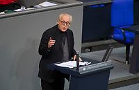 DEU, Deutschland, Germany, Berlin, 27.11.2019: Martin Erwin Renner, Abgeordneter der Partei Alternative für Deutschland (AfD), bei einer Rede während einer Plenarsitzung im Deutschen Bundestag.