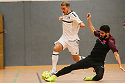 FUTSAL: Regionalliga Nord, HSV Panthers - FC Fortis, Hamburg, 07.03.2020<br /> Michael Meyer (HSV Panthers, l.)<br /> © Torsten Helmke