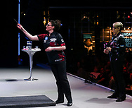 Lorraine Winstanley during the BDO World Professional Championships at the O2 Arena, London, United Kingdom on 9 January 2020.
