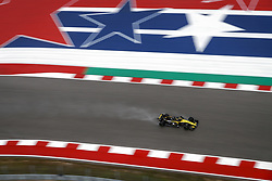 October 19, 2018 - Austin, United States - HULKENBERG Nico (ger), Renault Sport F1 Team RS18, action during the 2018 Formula One World Championship, United States of America Grand Prix from october 18 to 21 in Austin, Texas, USA -  /   , Motorsports: FIA Formula One World Championship; 2018; Grand Prix; United States, FORMULA 1 PIRELLI 2018 UNITED S GRAND PRIX , Circuit of The Americas  (Credit Image: © Hoch Zwei via ZUMA Wire)