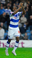 Photo: Leigh Quinnell/Sportsbeat Images.<br /> Queens Park Rangers v Hull City. Coca Cola Championship. 03/11/2007. Mikele Leigertwood celebrates his goal for QPR.