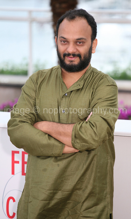 Director Amit Kumar at the Monsoon Shootout film photocall at the Cannes Film Festival 18th May 2013