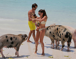 Exclusive - Tamara Ecclestone with husband Jay and daughter Sophia on holiday in the Bahamas on May 4, 2016. Photo by ABACAPRESS.COM