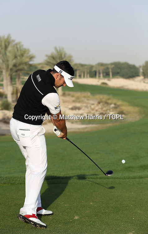Lee SLATTERY (ENG) during fourth round,Commercial Bank Qatar Masters 2013,Doha GC,Doha,Qatar,26th January 2013.