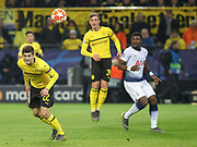 Christian Pulisic of Borussia Dortmund during the Champions League round of 16, leg 2 of 2 match between Borussia Dortmund and Tottenham Hotspur at Signal Iduna Park, Dortmund, Germany on 5 March 2019.
