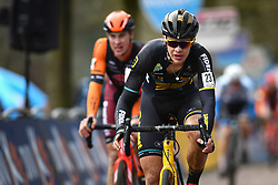 February 9, 2019 - Lille U23, BELGIUM - Belgian Andreas Goeman crosses the finish line at the U23 race of the Krawatencross cyclocross in Lille, the eighth and last stage in the DVV Trofee Cyclocross competition, Saturday 09 February 2019. BELGA PHOTO DAVID STOCKMAN (Credit Image: © David Stockman/Belga via ZUMA Press)