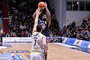 Jamil Wilson<br /> Vanoli Cremona - Fiat Auxilium Torino<br /> Lega Basket Serie A 2016/2017<br /> Cremona, 12/02/2017<br /> Foto Ciamillo-Castoria