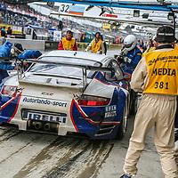 #93, Porsche 997 GT3 RSR, Autorlando Sport/Farnbacher Racing, drivers: Pierre Ehret, Lars-Erik Nielsen, Allan Simonsen, 24H Le Mans, 2007