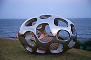 Sculpture By The Sea, Bondi, Sydney..The world's largest annual free-to-the-public outdoor sculpture exhibition, Sculpture by the Sea, Bondi  was launched today 18.10.12.Sea's Nest