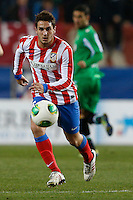 17.01.2013 SPAIN - Copa del Rey Matchday 1/2th  match played between Atletico de Madrid vs Real Betis Balompie (2-0) at Vicente Calderon stadium. The picture show  Jorge Resurreccion Koke (Spanish midfielder of At. Madrid)