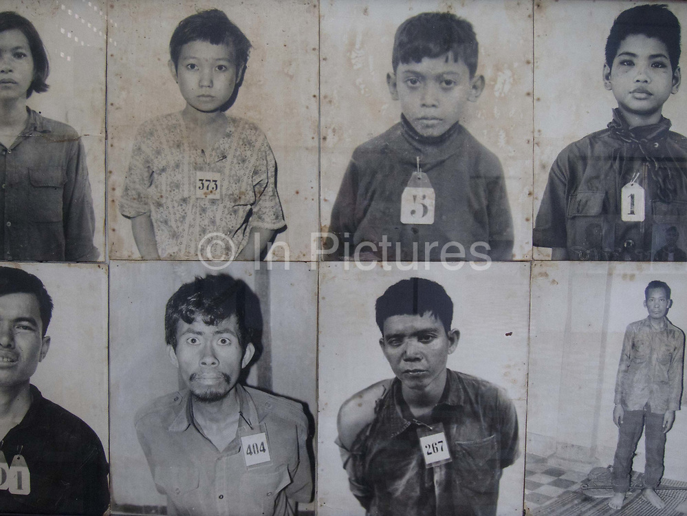 The Khmer Rouge regime doumented all inmates and a vast record now show the individuals who were interned and perished in the prison.<br /> <br /> The Toui Sleng Genocide Museum. The Toui Sleng was a college turned into interrogation and torture centre by the Khmer Rouge during their rule in the seventies, called S21 by the Khmer Rouge. Most inmates were murdere, either they died during torture or in the Klling Fields outside Phnom Penh. An estimated 17,000 prisoners were held at the prison, called S21 by the Khmer Rouge and only 7 is believed to have survived imprissonment, the rest died either in prison or were killed in the Killing Fields. <br /> The Toui Sleng prison was run by Kang Kek Iew, Comrade Duch, a former school teacher. On 26 July 2010, Duch was found guilty of crimes against humanity, torture, and murder; he was sentenced to 35 years' imprisonment