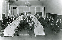 4/1/1908 The Hollywood Club. C.E. Toberman is 4th from left on left side of room
