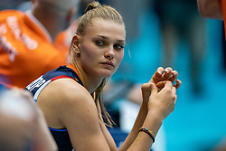 04-08-2019 ITA: FIVB Tokyo Volleyball Qualification 2019 / Netherlands, - Italy Catania<br /> last match pool F in hall Pala Catania between Netherlands - Italy for the Olympic ticket / Nika Daalderop #19 of Netherlands
