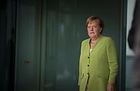 DEU, Deutschland, Germany, Berlin, 13.08.2018: Bundeskanzlerin Dr. Angela Merkel (CDU) beim Empfang eines Staatsgastes im Bundeskanzleramt.