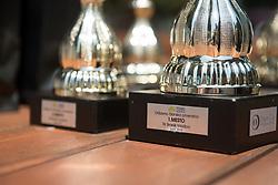 Trophies for the winners of Drzavno prvenstvo v tenisu za clane in clanice, on June 27th, 2019 in Maribor, Slovenia. Photo by Milos Vujinovic / Sportida