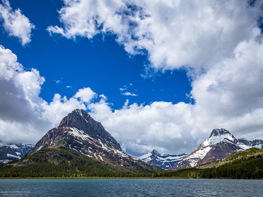 Swiftcurrent Lake, Grinnell Point-Glacier National Park