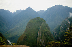 Mountain Scenic Near Aquas Calientes