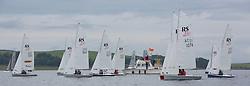 Largs Regatta Week 2015, hosted by Largs Sailing Club and Fairlie Yacht Club<br /> <br /> RS200 start<br /> <br /> Credit Marc Turner