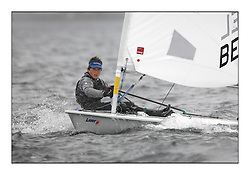 The second day of racing at the World Laser Radial Youth Championships, Largs, Scotland...Matthias Van de Loock BEL 193211..317 Youth Sailors from 42 different nations compete in the World and European Laser Radial Youth Champiponship from the 17-25 July 2010...The Laser Radial World Championships take place every year. This is the first time they have been held in Scotland and are part of the initiaitve to bring key world class events to Britain in the lead up to the 2012 Olympic Games. ..The Laser is the world's most popular singlehanded sailing dinghy and is sailed and raced worldwide. ..Further media information from .laserworlds@gmail.com.event press officer mobile +44 7866 571932 and +44 1475 675129 .