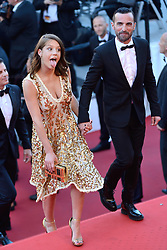 Adele Exarchopoulos and Nicolas Ghesquiere attending the 70th anniversary ceremony as part of the 70th Cannes Film Festival in Cannes, France on May 23, 2017. Photo by Aurore Marechal/ABACAPRESS.COM    593993_013 Cannes France
