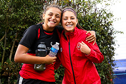 Carla Humphrey and Abi Harrison of Bristol City Women during training at Failand - Mandatory by-line: Robbie Stephenson/JMP - 26/09/2019 - FOOTBALL - Failand Training Ground - Bristol, England - Bristol City Women Training