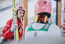 31.12.2019, Olympiaschanze, Garmisch Partenkirchen, GER, FIS Weltcup Skisprung, Vierschanzentournee, Garmisch Partenkirchen, Qualifikation, im Bild Daniel Huber (AUT) // Daniel Huber of Austria during the Four Hills Tournament of FIS Ski Jumping World Cup at the Olympiaschanze in Garmisch Partenkirchen, Germany on 2019/12/31. EXPA Pictures © 2019, PhotoCredit: EXPA/ JFK